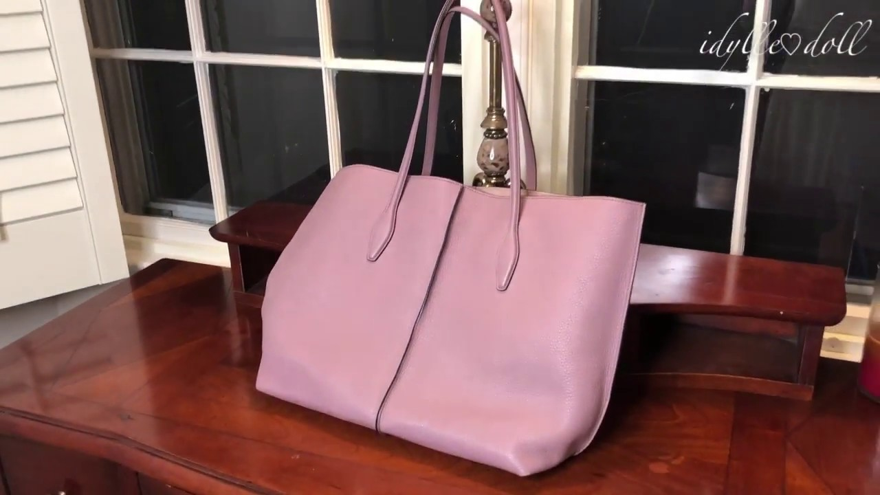 Review of TOD'S Joy Tote | LUXURY Italian Leather | The Most Elegant Tote!
