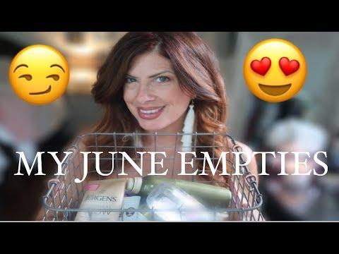 My EMPTIES FOR JUNE