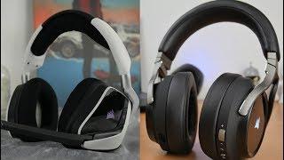 Corsair Void Elite Wireless vs Corsair Virtuoso hi-res headset