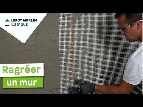 Comment Ragréer Un Mur Leroy Merlin
