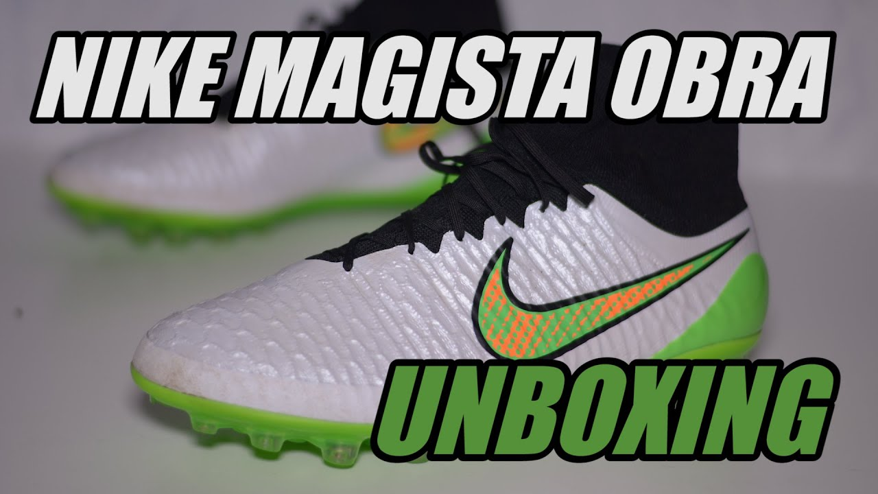 f7c9a8e062b Nike Magista Obra Shine Through Unboxing