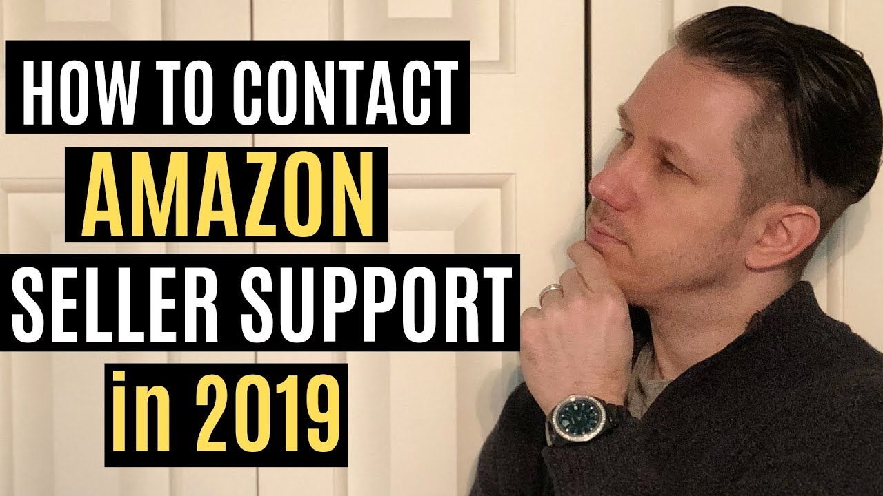 How To Contact Amazon Seller Central Support