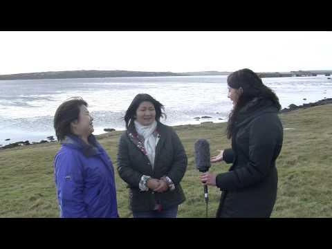 Japanese Film Crew Interview: Falkland Islands