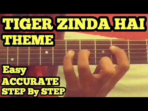 Tiger Zinda Hai Theme Guitar Tabs/Lead Lesson | Cover | Salman | Katrina | Rock Acoustic Guitar Lead