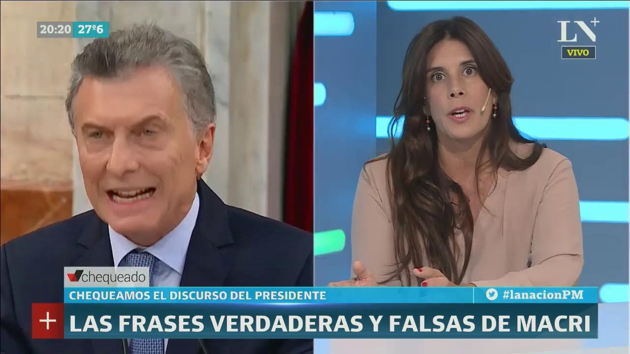 Frases Verdaderas Y Falsas Del Discurso De Macri Chequeado Y Ln