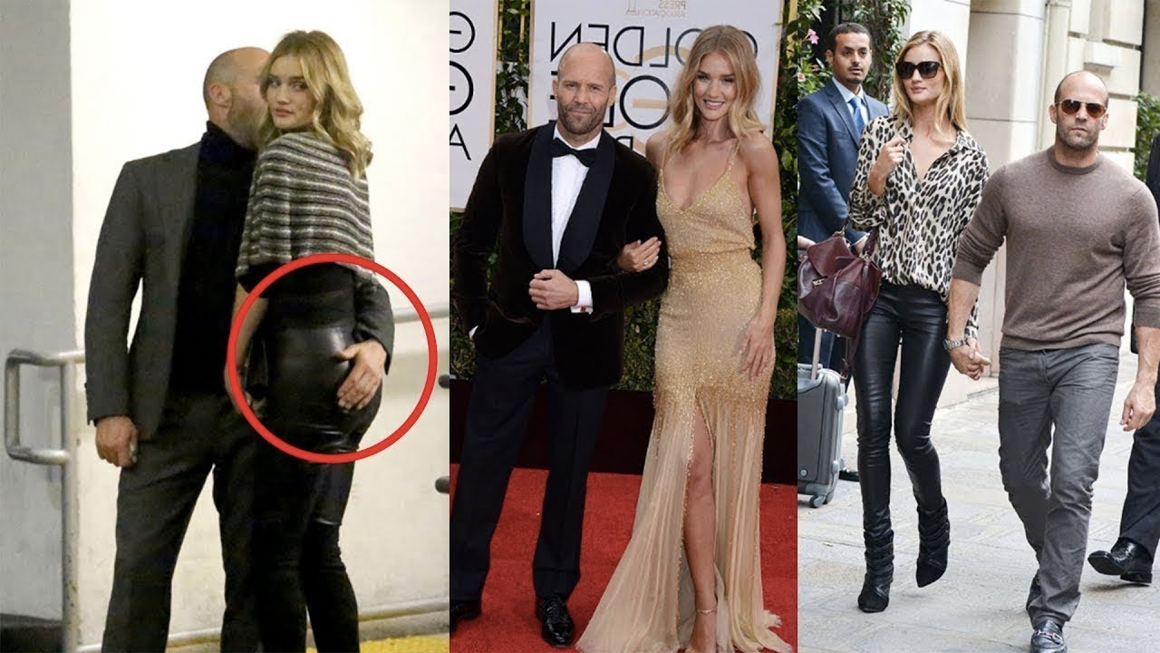 Jason Statham Wife Rosie Huntington 2018 - YouTube