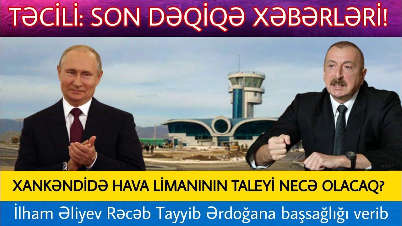 """Yekun xəbərlər bugün 14.02.2021, xeberler, ( """"Putin Qarabağla bağlı tarixlə fəxr edir"""" )"""