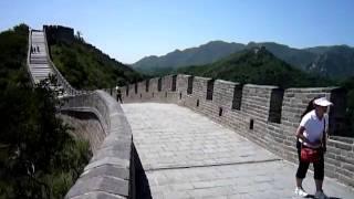 PUNK-O-YAMA 中国 北京 万里の長城走る
