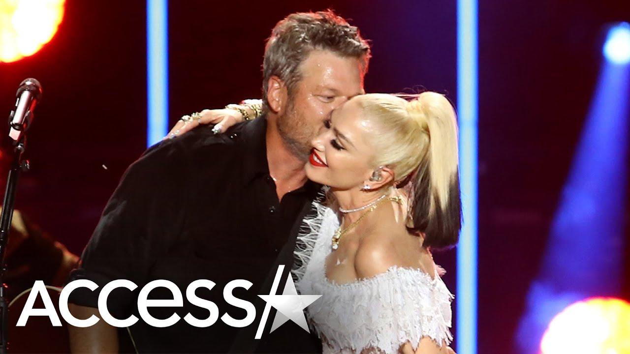 Blake Shelton Calls Wife 'Gwen Stefani Shelton' For Duet Together