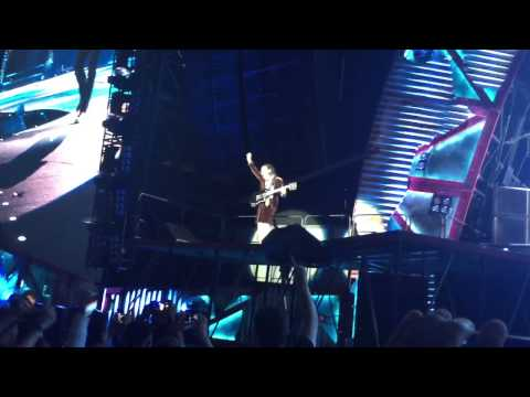 AC/DC Thunderstruck Dodger Stadium, Los Angeles, CA, USA  Sep 28 2015