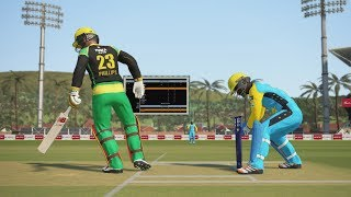 Cpl 2018 match 17 | Jamaica vs St Lucia stars full match highlights | ashes gameplay by DudeBuzz