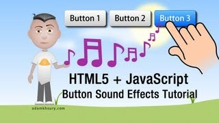 Button Sound Effects Tutorial Audible HTML5 JavaScript Menu Systems