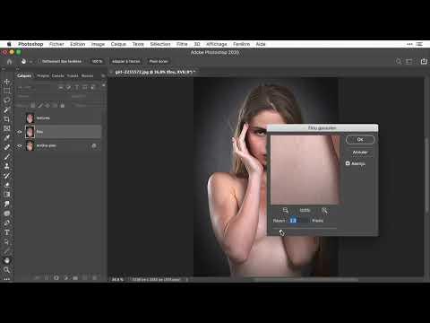 Effacer les poils avec Photoshop (2 sur 3)