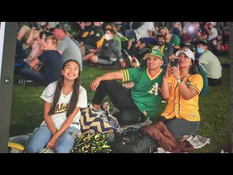 Oakland A's Star Wars Drone Light Show A Hit But Time To Win Some Games
