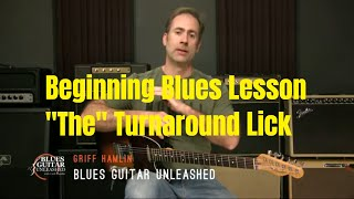 Blues Guitar Lesson   THE Turnaround For 12 Bar Blues