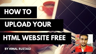 How to upload your Basic Html website on Internet | Free domain name | Tutorial