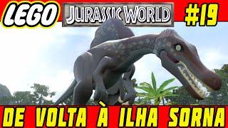 LEGO Jurassic World #19 - De Volta à Ilha Sorna