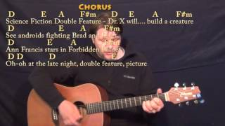 Science Fiction Double Feature (Rocky Horror) Strum Guitar Cover Lesson with Chords/Lyrics