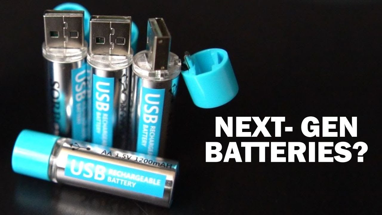 Testing Two Unusual USB Rechargeable Batteries