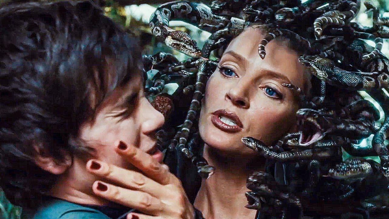 Download Medusa's Garden Scene - PERCY JACKSON & THE OLYMPIANS (2010) Movie Clip