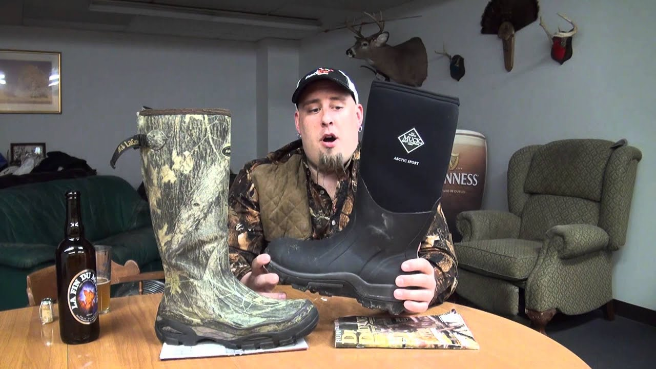 Boot Review-Lacrosse VS Muck - YouTube