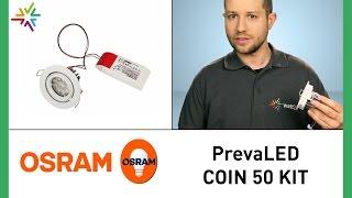 OSRAM KIT PrevaLED COIN 50 - LED Retrofit für Halogen- und HCI Reflektorlampen [watt24-Video Nr.165]