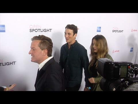 "Miles Teller & Keleigh Sperry 3rd Annual ""Airbnb Open Spotlight"" Red Carpet"
