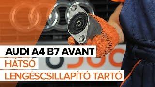 AUDI A4 Avant (8ED, B7) Felfüggesztés szerelési: ingyenes videó