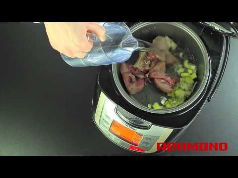 Кролик, тушенный в сметане - кулинарный рецепт