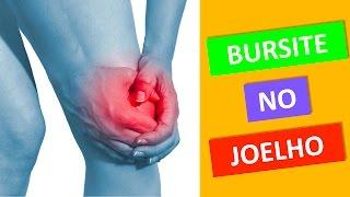 Dor perna bursite no joelho