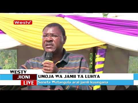 Kinara wa Ford Kenya airai jamii ya luhya kuungana