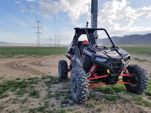 2018 POLARIS RZR RS1 FIRST RIDE/THE POWER LINE ROAD