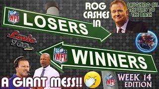 NFL WINNERS & LOSERS Ep.17.14 | Week 14 NFL Picks LIVE!🏈🏈🏈  #LouieTeeLive thumbnail