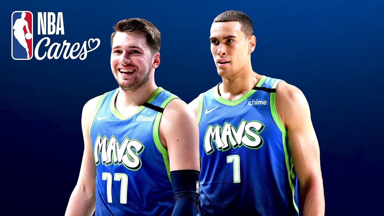 A message from Luka Doncic & Dwight Powell