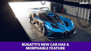 Bugatti's new car has a morphable feature