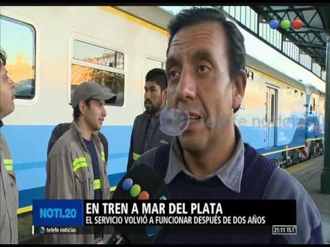 Se puede viajar en tren a Mar del Plata - Noti20