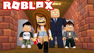 SHE WAS THROWN OUT! -Roblox Bully Story English