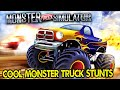 Extreme Monster Truck Stunt Parking Driving School Android Simulator