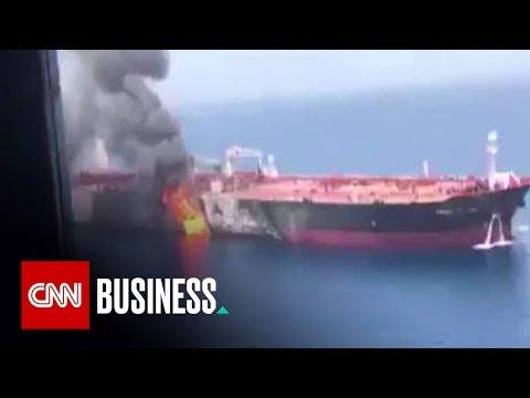 Oil tanker attack sets energy markets on edge
