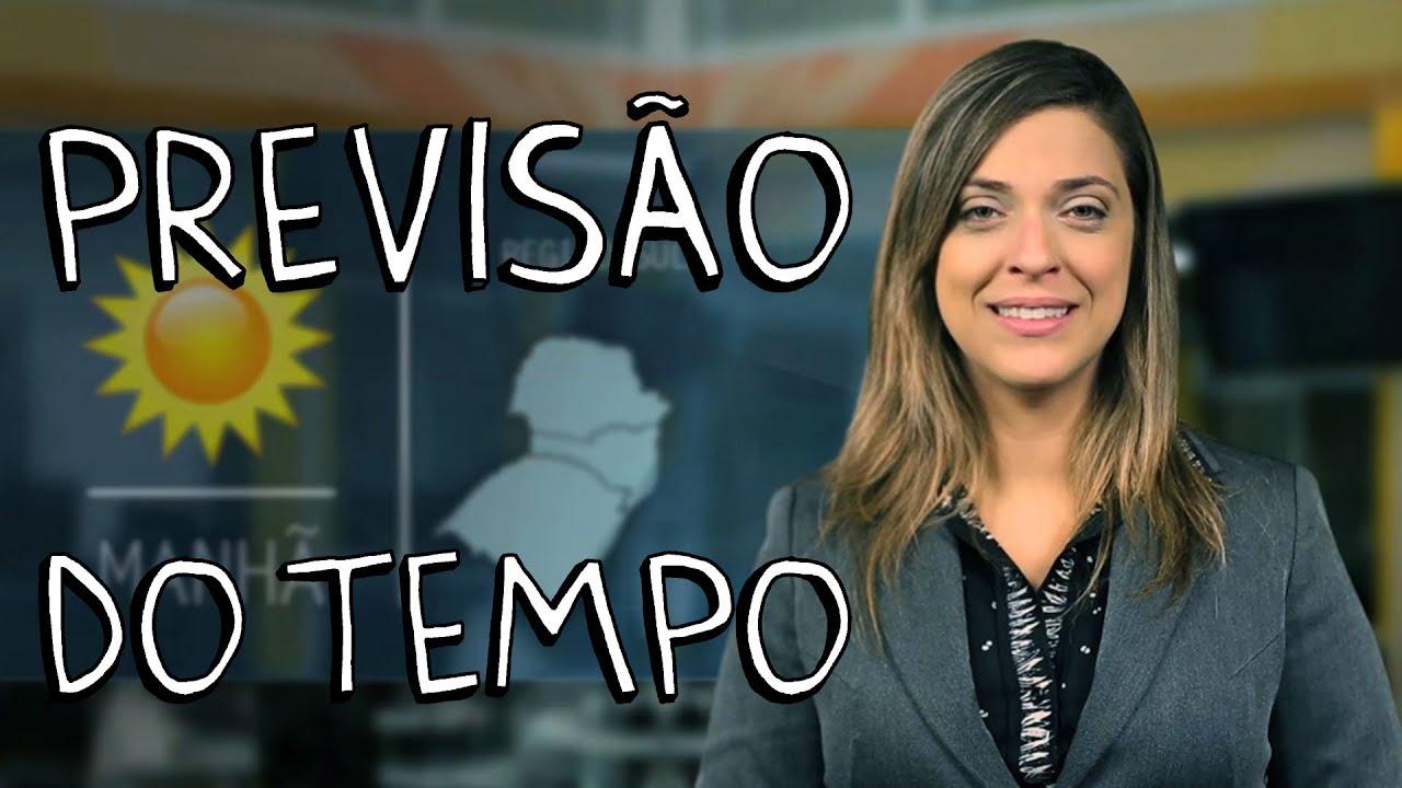 PREVISÃO DO TEMPO - YouTube