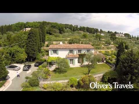 Manoir Clement by Drone |  French Riviera (Cote d'Azur) | Oliver's Travels
