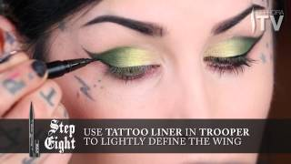 The Two Winged Electric Green Eyeshadow Looks Tutorial by Kat Von D Thumbnail