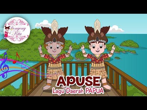 APUSE | Lagu Daerah Papua | Budaya Indonesia | Dongeng Kita