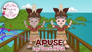 Gambar cover APUSE | Lagu Daerah Papua | Budaya Indonesia | Dongeng Kita