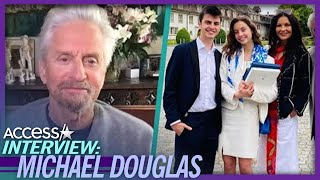 Michael Douglas Says Life Without Kids At Home Will Be 'A Big Change'