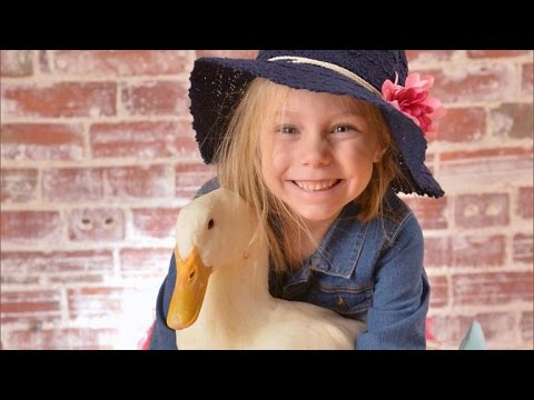 A Girl And Her Duck Have Formed An Inseparable Interspecies Bond