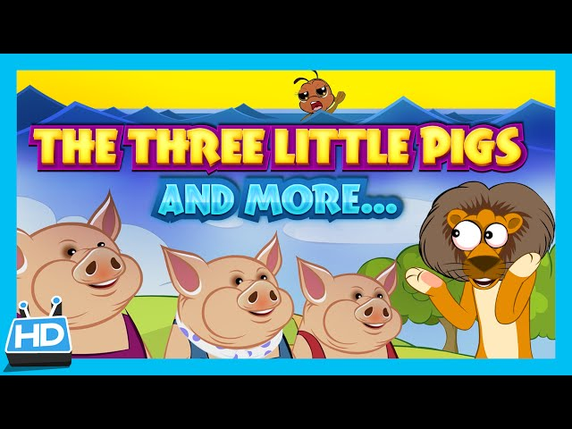 Three Little Pigs , Dove and Ant , Lion and Mouse | Short Stories Collection
