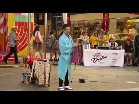 Senmaru Edo-Daikagura - Fringe Festival, Adelaide, Sth Australia March 2015