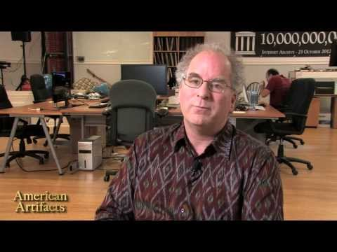 American Artifacts Preview: Internet Archive - founder Brewster Kahle