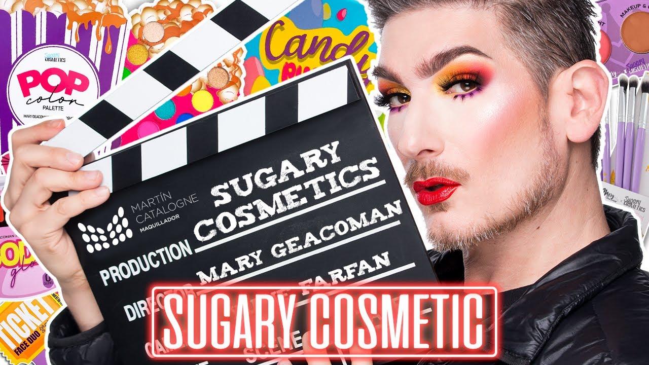 OMG 😱 Sugary Cosmetics y Mary Geacoman / Reseña completa con Tutorial de Maquillaje